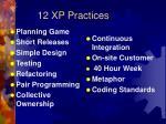 12 xp practices