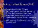 rational unified process rup