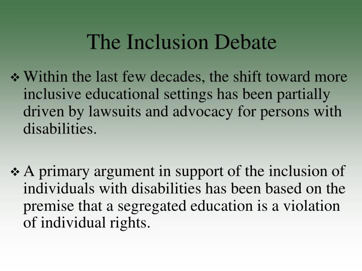 inclusion essay education Diversity and inclusion can be challenging ideals to discuss, let alone realize elizabeth simmons shares strategies gleaned from conversations with trusted colleagues how to discuss diversity and inclusion on campus (essay.