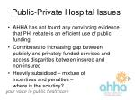 public private hospital issues16