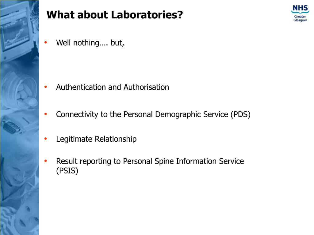 What about Laboratories?
