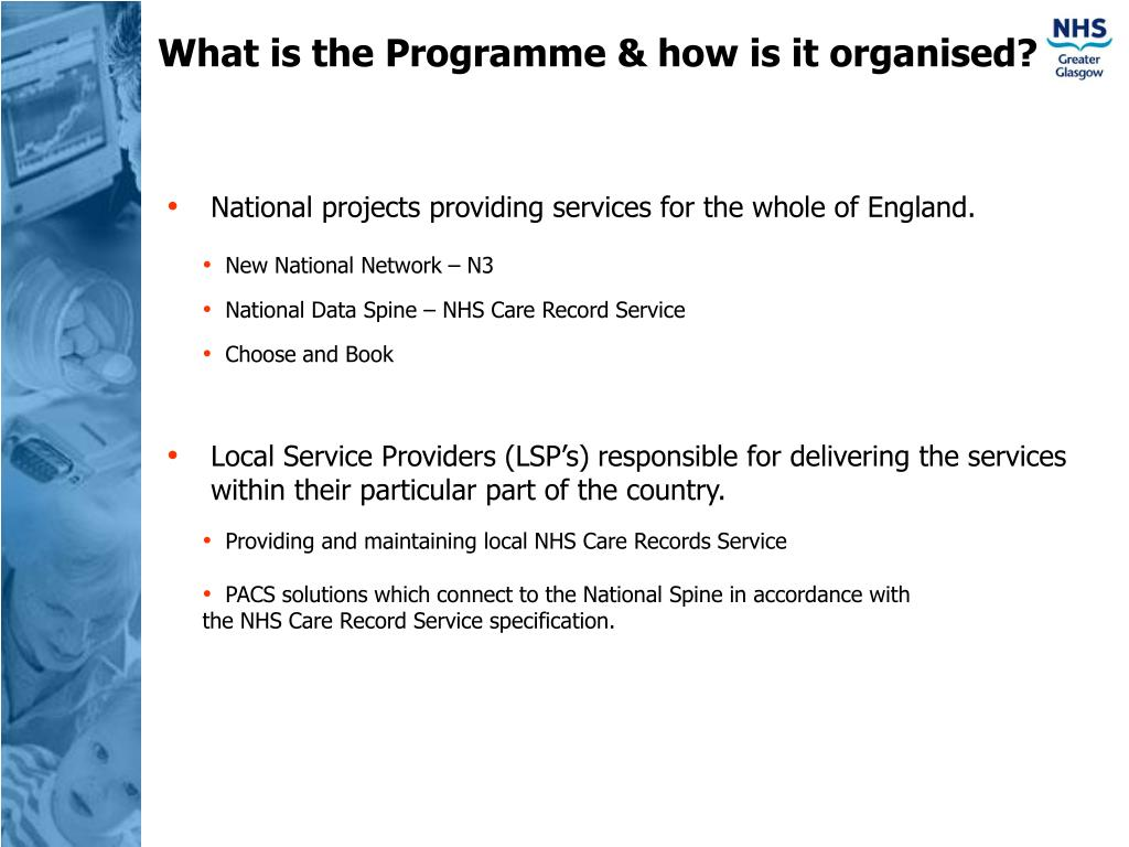 What is the Programme & how is it organised?