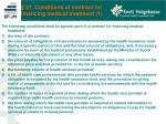 37 conditions of contract for financing medical treatment 1