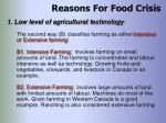 reasons for food crisis24