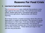 reasons for food crisis26