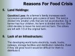 reasons for food crisis37
