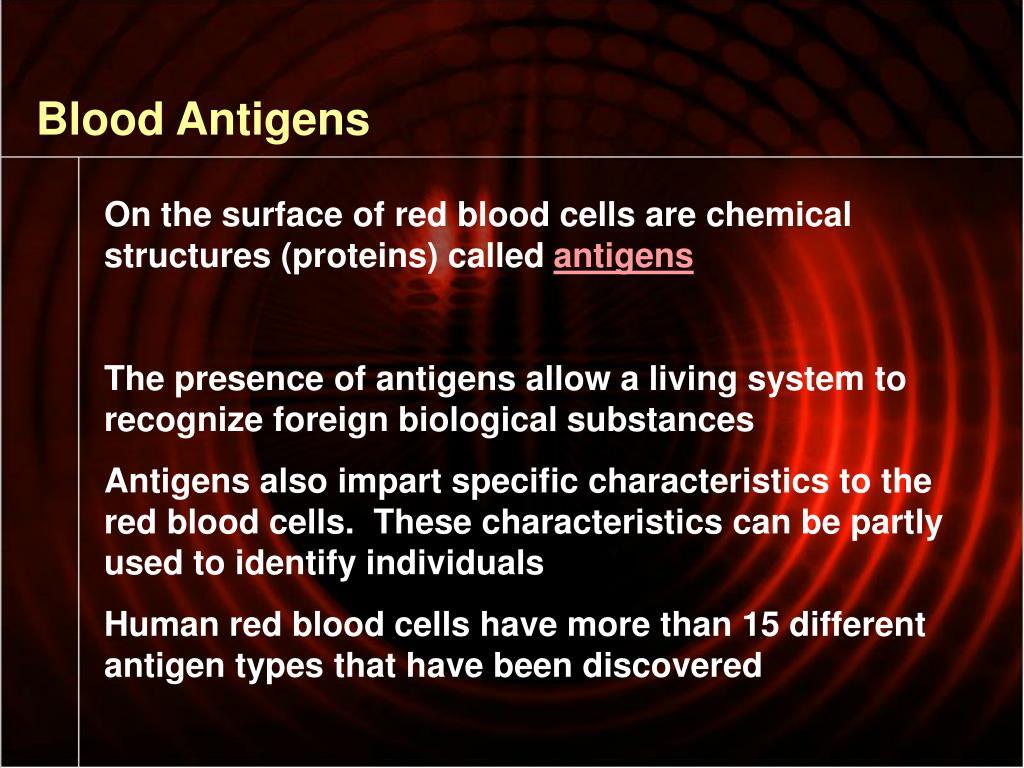 Blood Antigens