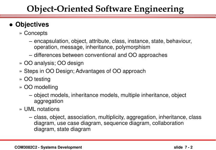 Ppt Object Oriented Software Engineering Powerpoint Presentation Free Download Id 41224