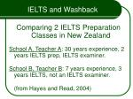ielts and washback