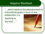 negative washback16