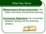 other key terms9
