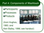 part 4 components of washback