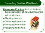 promoting positive washback