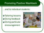 promoting positive washback54