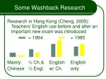 some washback research27