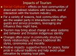 impacts of tourism7