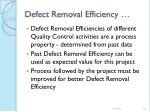defect removal efficiency58