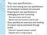 test case specifications46