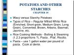 potatoes and other starches chapter 18
