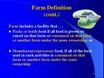 farm definition cont