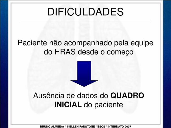 DIFICULDADES