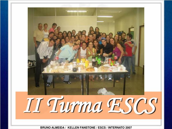 II Turma ESCS