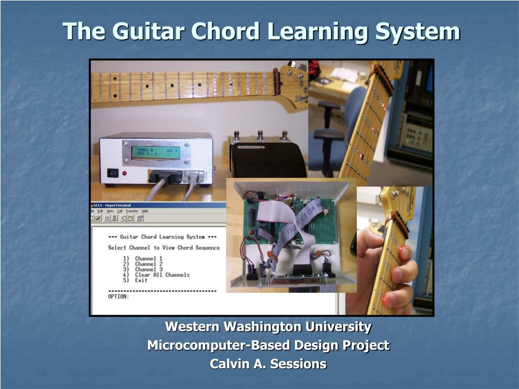 the guitar chord learning system l.