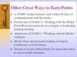 other great ways to earn points