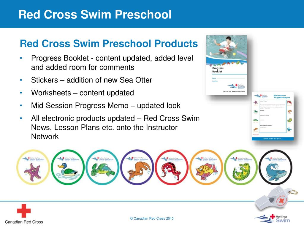 PPT - Red Cross Swim Program 2011 Review Update PowerPoint ...