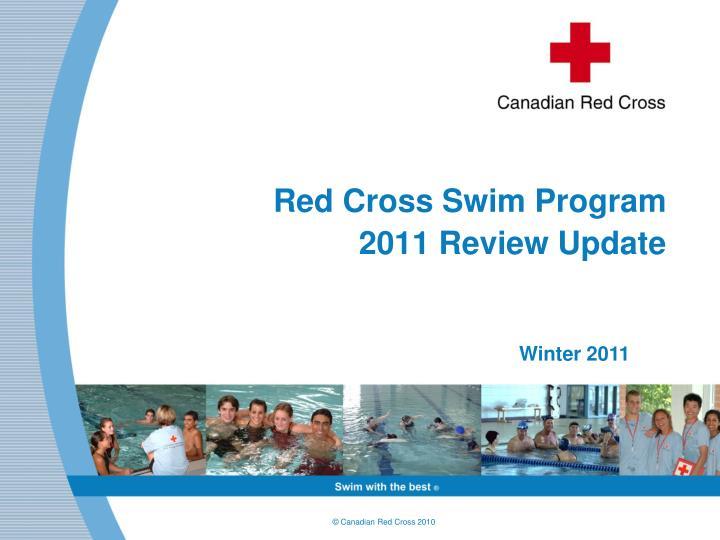 red cross swim program 2011 review update n.