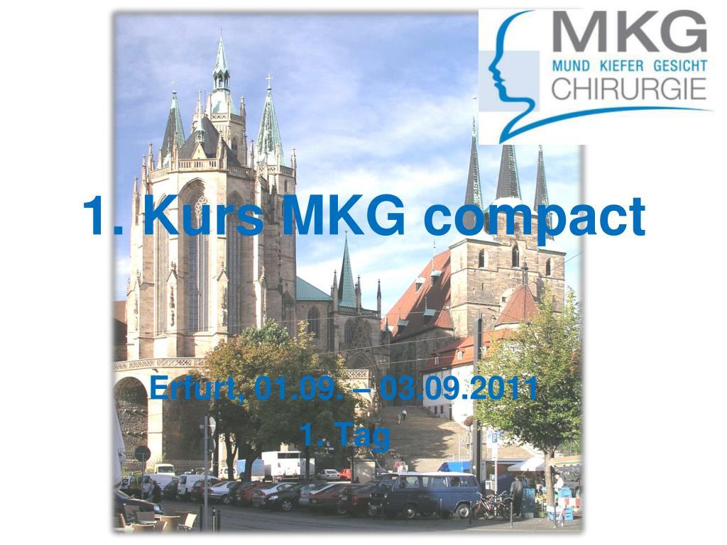 PPT - 1. Kurs MKG compact PowerPoint Presentation - ID:412659