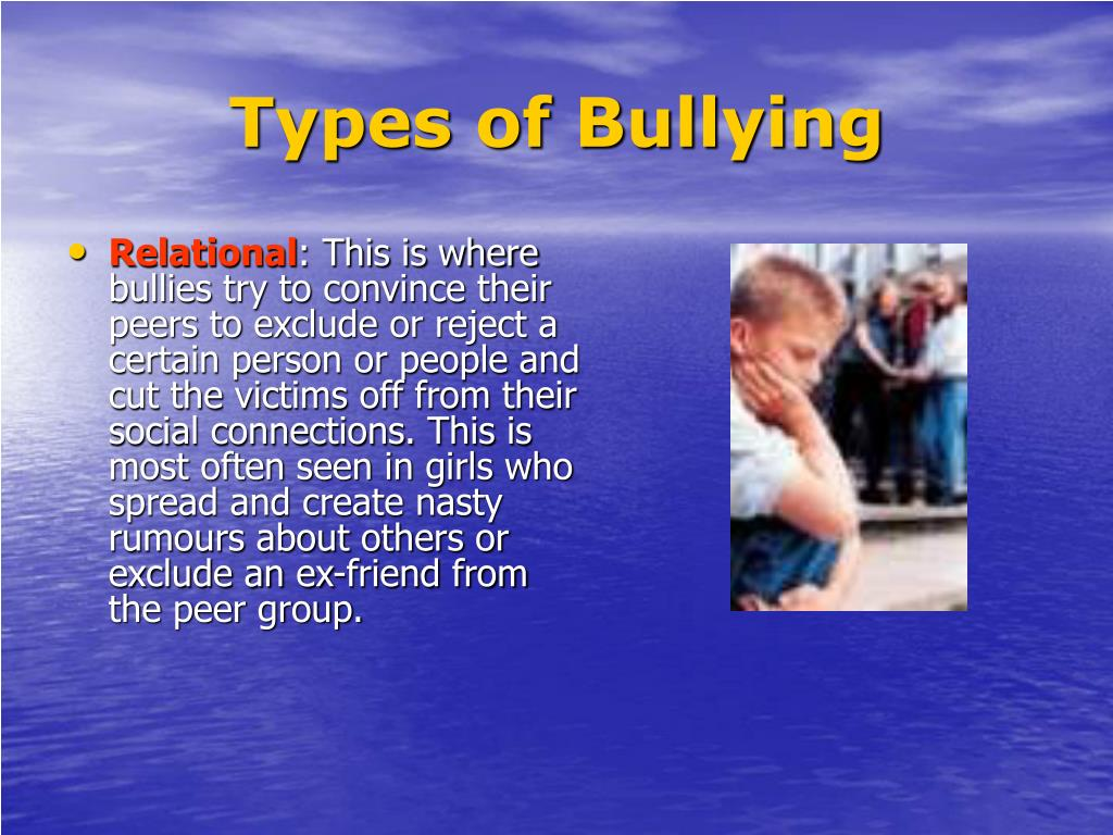 bullying is a growing problem