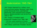 modernization 1945 1964
