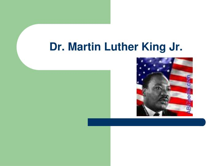 dr martin luther king jr n.
