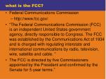 what is the fcc