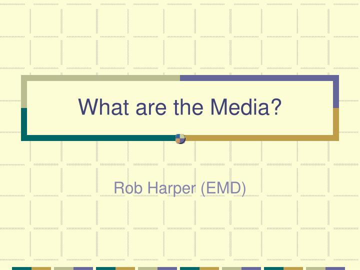 what are the media n.