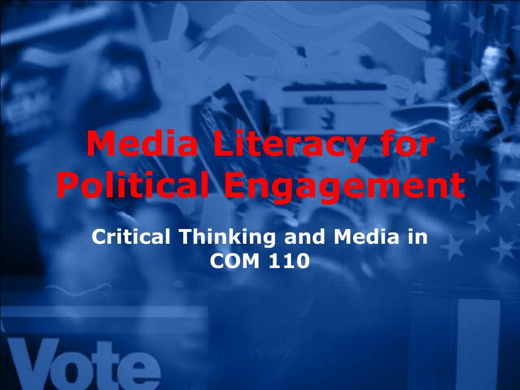 media literacy for political engagement l.