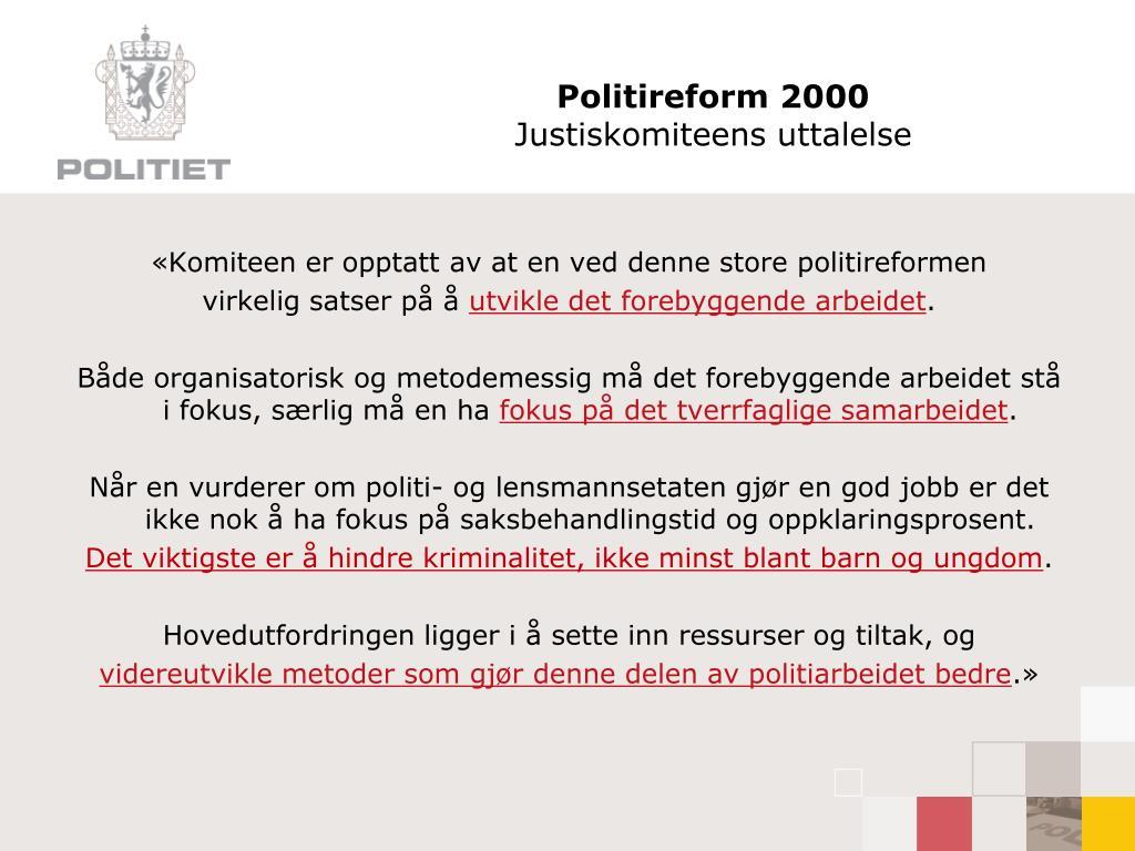 Politireform 2000