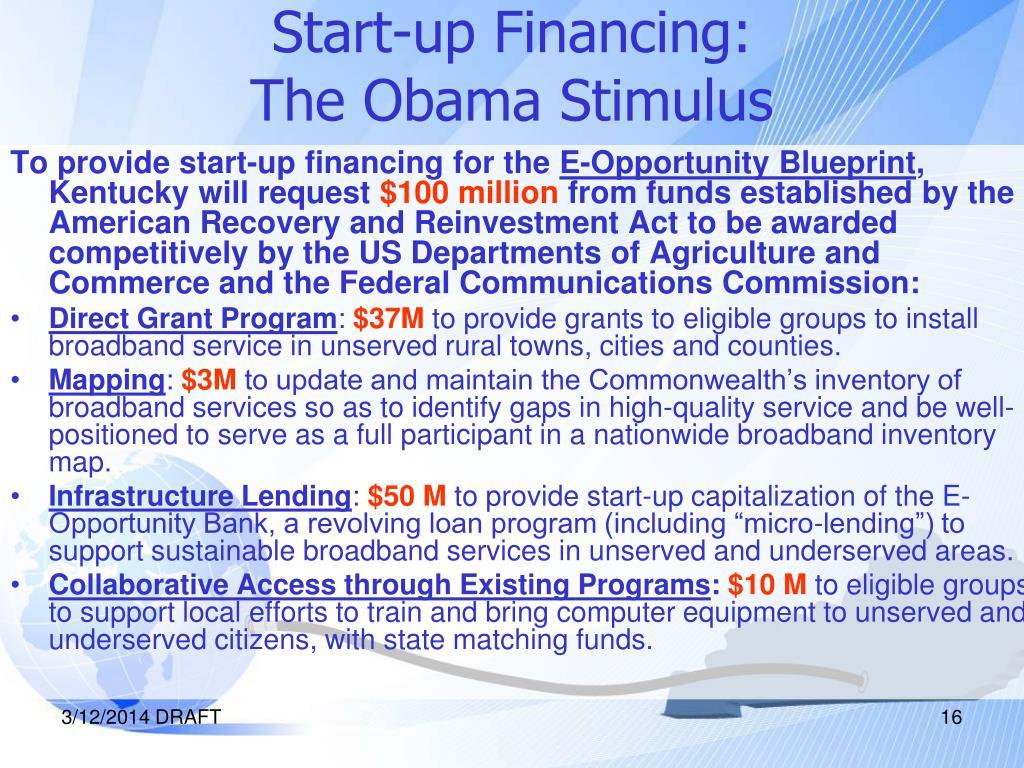 Start-up Financing: