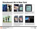 storyboard bj in new york