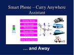 smart phone carry anywhere assistant32