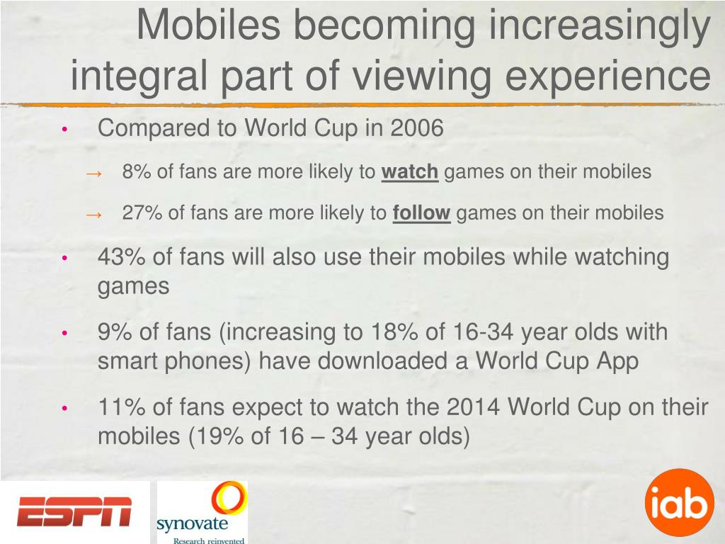 mobiles becoming increasingly integral part of viewing experience l.