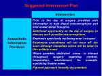 suggested intervention plan30