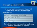 current market trends