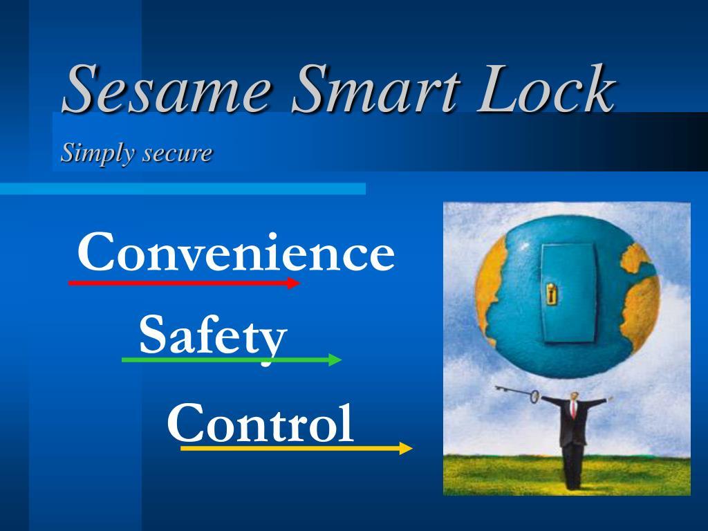 sesame smart lock l.