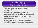 4 identifying publics audience