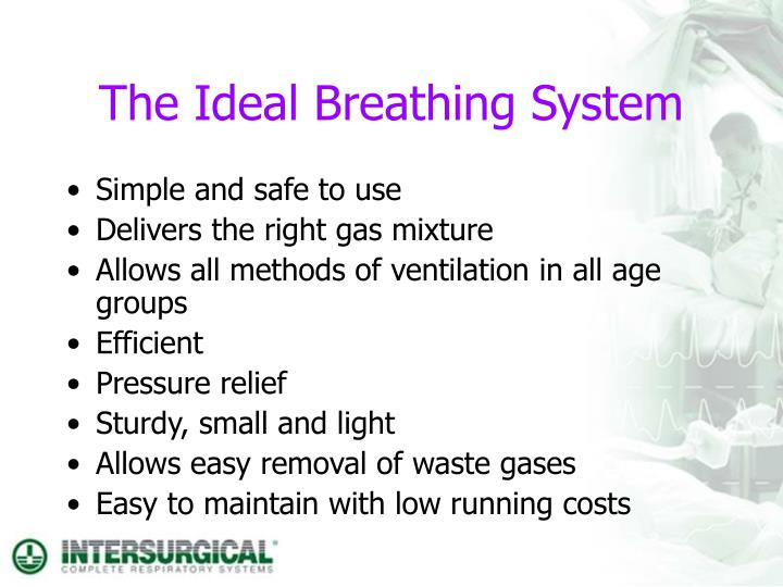 the ideal breathing system n.