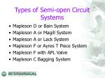 types of semi o pen circuit systems
