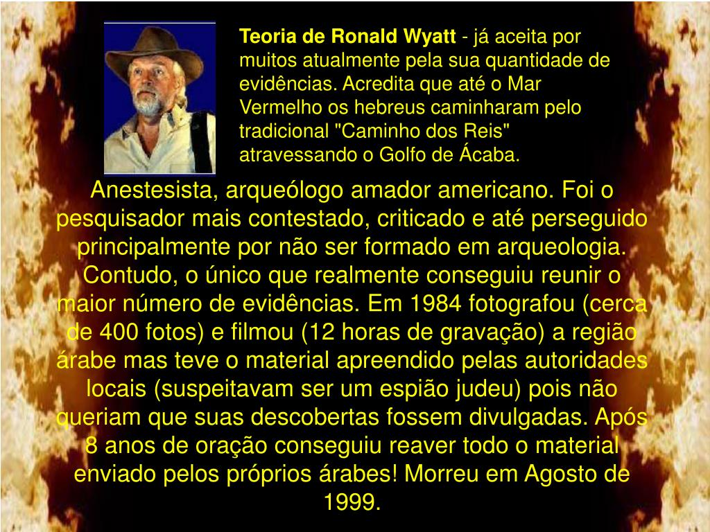 Teoria de Ronald Wyatt