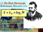 2 the heat microscope boltzmann maxwell 1876